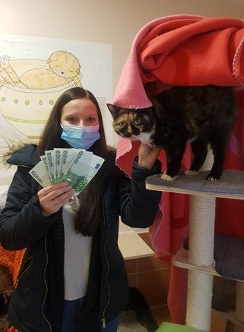 600 Euro für unsere Tiere 🐾🥳