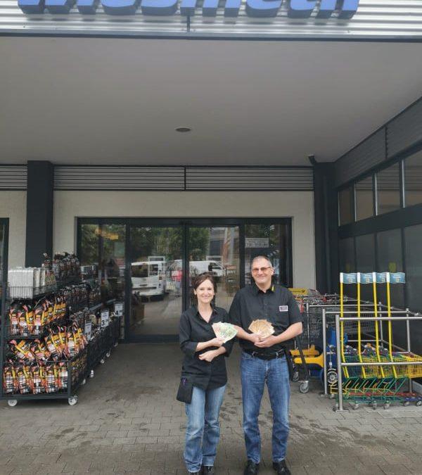 800 Euro für unsere Tiere 👏 Danke an den Edeka Markt in Ursensollen 🐾