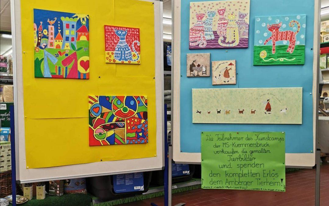 Tolles Projekt der Mittelschule Kümmersbruck – 320 Euro für unsere Tiere
