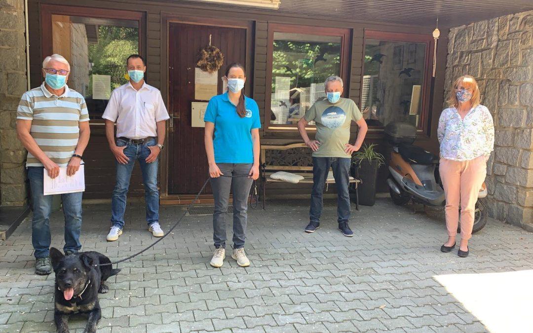 Fachleute treffen sich im Tierheim – ein weiterer Schritt in Richtung Neubau